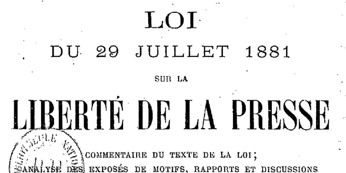 Liberté de la presse - Tribune de Julien Richard-Thompson, responsable du pôle Médias de Démocratie Vivante dans Politique 1881